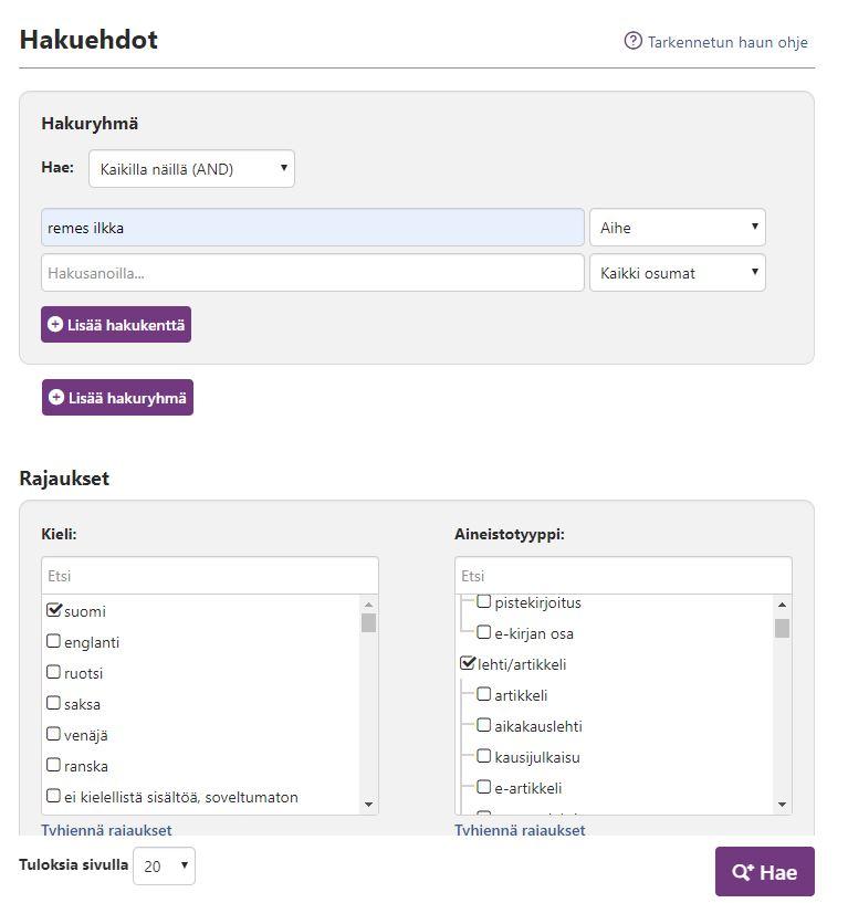 Kuvituskuva Finna.fi-palvelusta